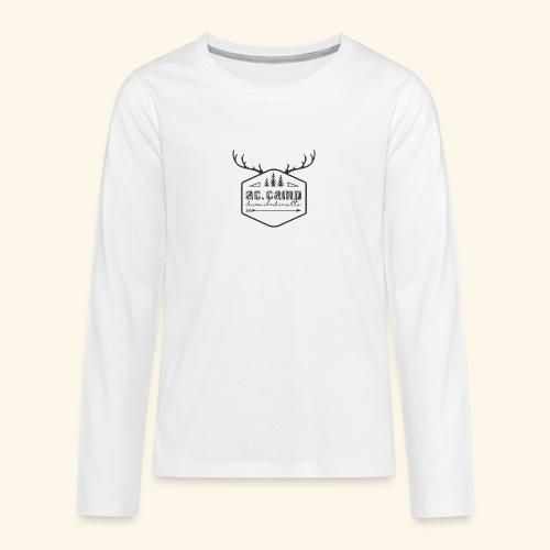 ac camp - Maglietta Premium a manica lunga per teenager