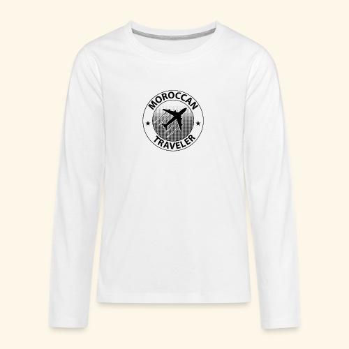 Moroccan Traveler - T-shirt manches longues Premium Ado