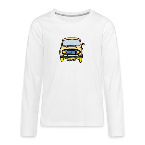 Voiture ancienne mythique française - T-shirt manches longues Premium Ado