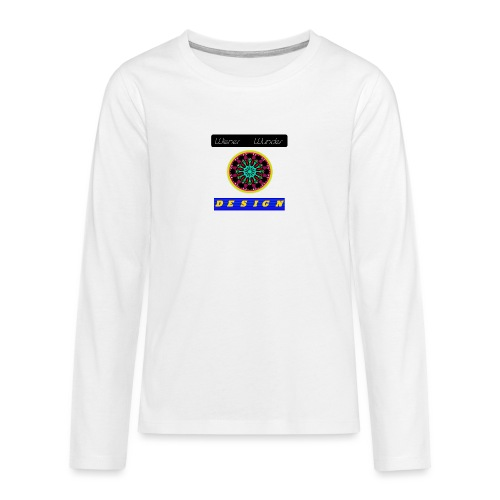 Wiener Wunder Design Logo #2 - Teenager Premium Langarmshirt