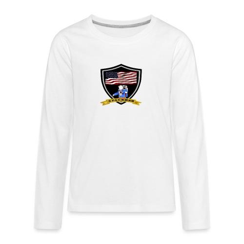 Spaceman Design - Teenager Premium Langarmshirt