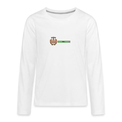 Uhu - Teenager Premium Langarmshirt