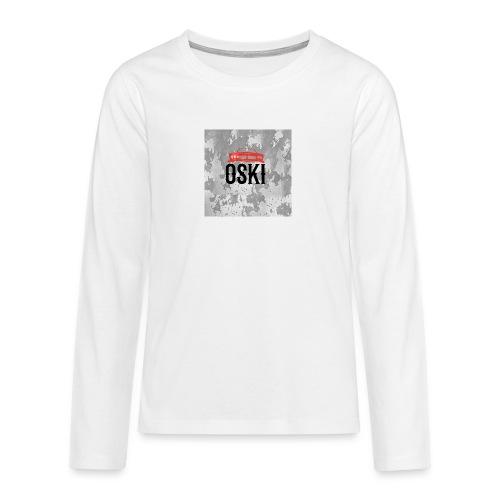 Osky - Camiseta de manga larga premium adolescente