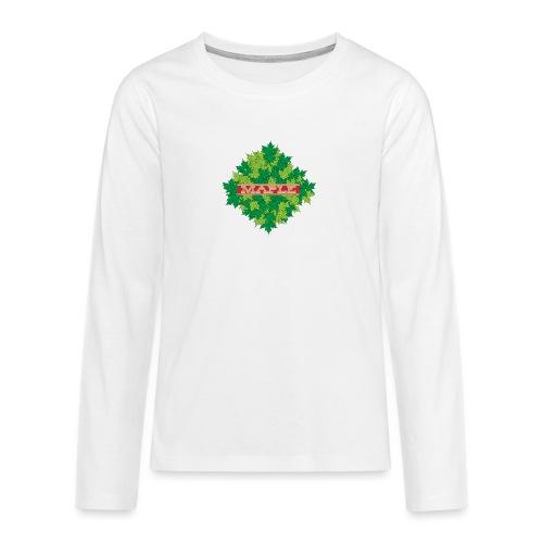 maple - Teenager Premium Langarmshirt