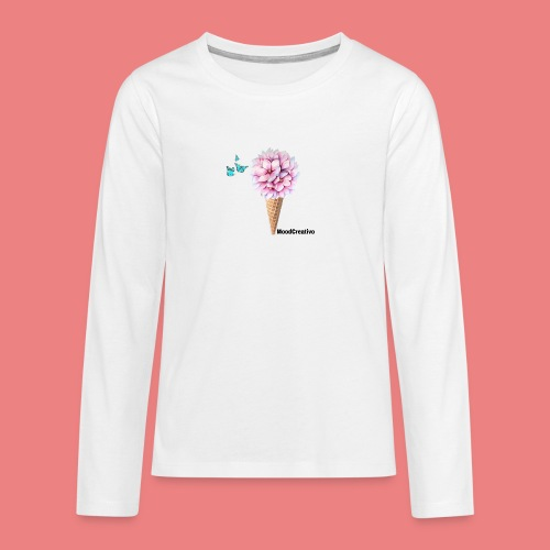 MoodCreativo - Maglietta Premium a manica lunga per teenager