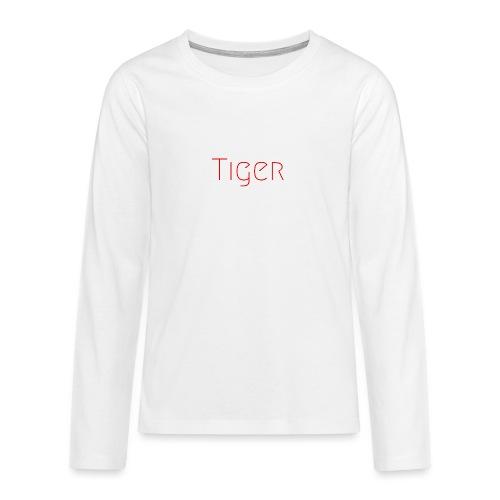 Tiger - T-shirt manches longues Premium Ado