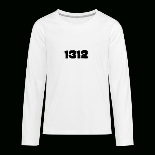 1312 - Teenager Premium Langarmshirt