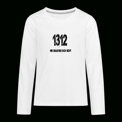 1312 BOSS - Teenager Premium Langarmshirt