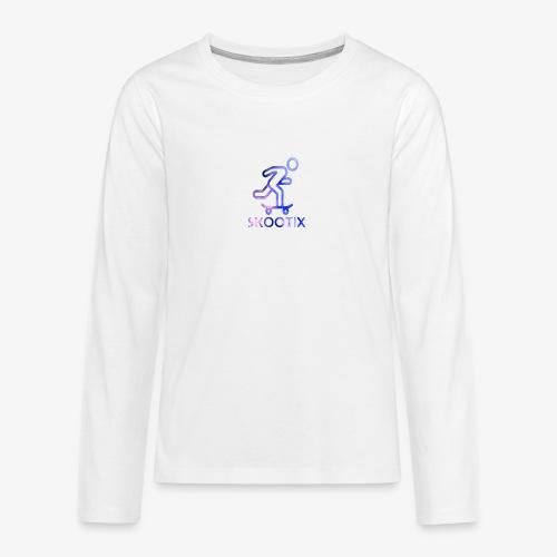 galaxy skootix - T-shirt manches longues Premium Ado