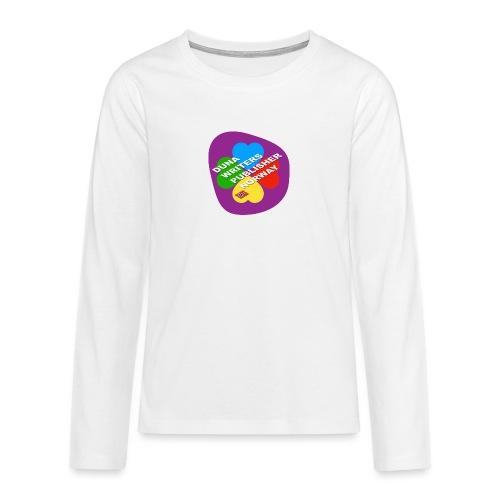 Duna Writers - Premium langermet T-skjorte for tenåringer