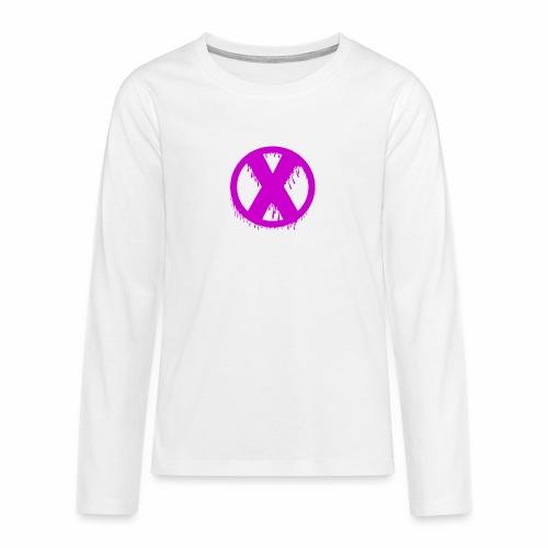 X - T-shirt manches longues Premium Ado