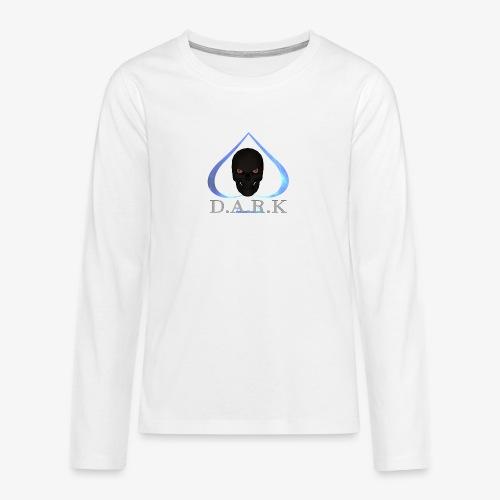 FB Logo 2017 trans halb - Teenagers' Premium Longsleeve Shirt