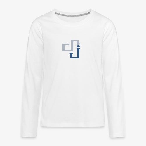 Amo la música DJ - Camiseta de manga larga premium adolescente