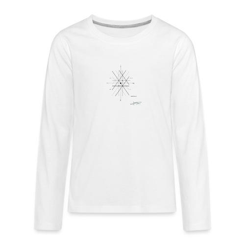 mathematique du centre_de_lunivers - T-shirt manches longues Premium Ado