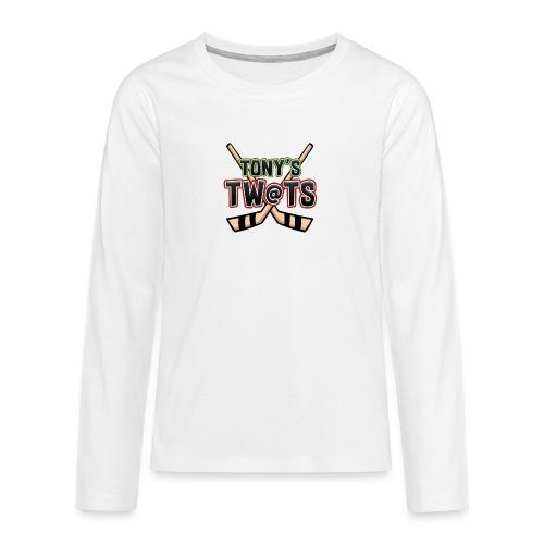 Tony's twats - Teenagers' Premium Longsleeve Shirt