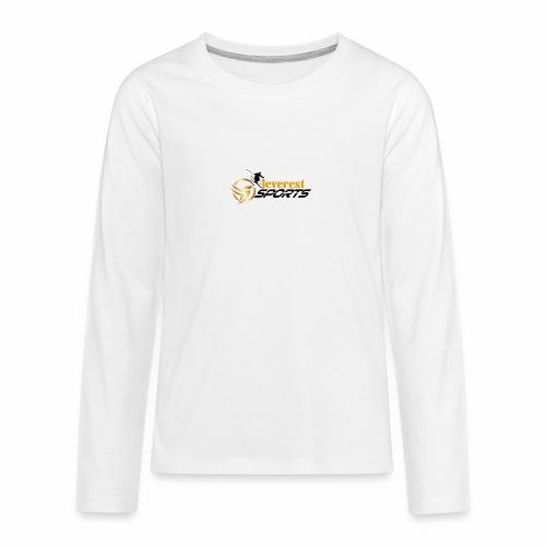 Skifahrer - Teenager Premium Langarmshirt