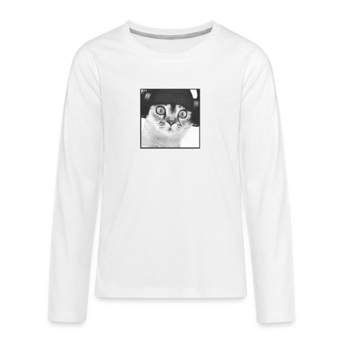 DJ CHAT - T-shirt manches longues Premium Ado