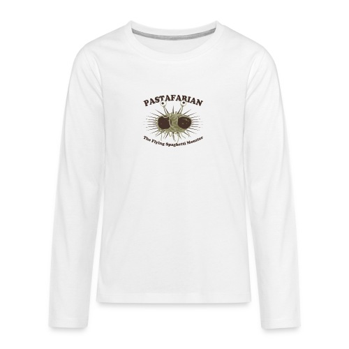 The Flying Spaghetti Monster - Teenagers' Premium Longsleeve Shirt