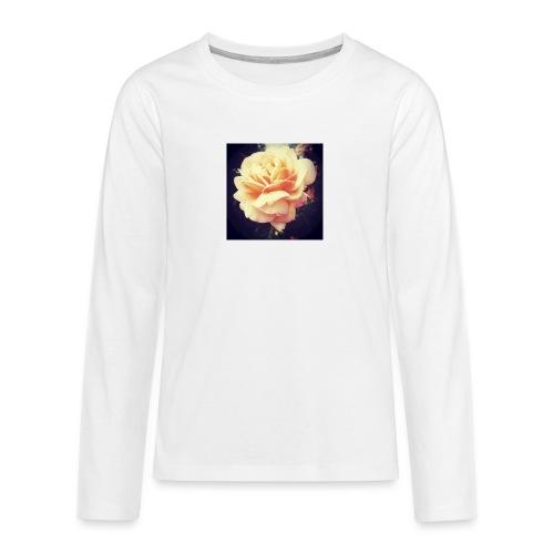 Flower - T-shirt manches longues Premium Ado