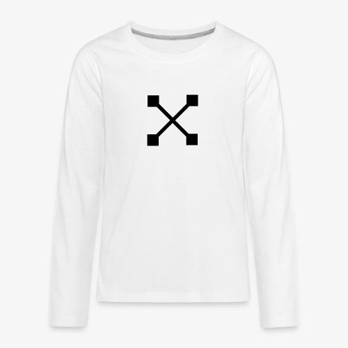 X BLK - Teenager Premium Langarmshirt