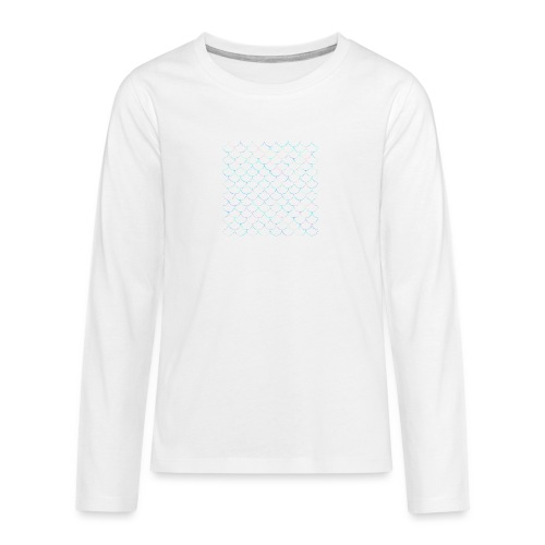 Mermaid scales - T-shirt manches longues Premium Ado