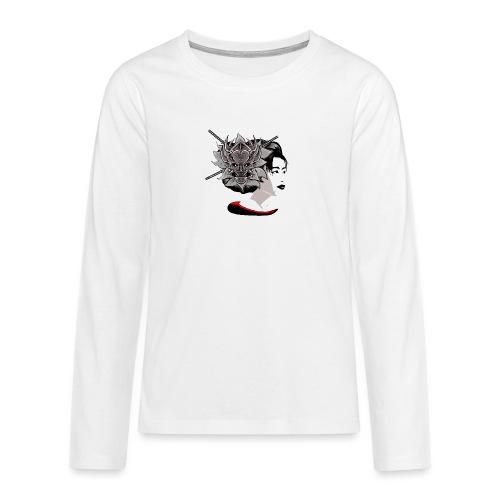 Warrior Flower - Teenager Premium shirt met lange mouwen