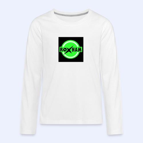 RoxHam-Button-2019 - Teenager Premium Langarmshirt