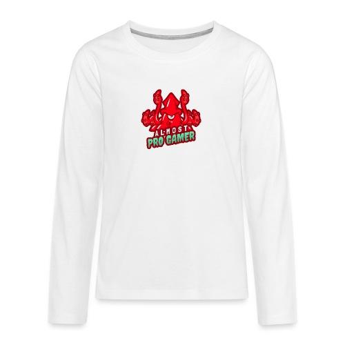 Almost pro gamer RED - Maglietta Premium a manica lunga per teenager