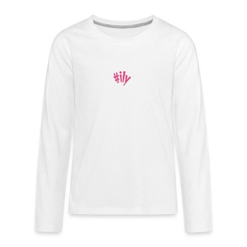 ily - Teinien premium pitkähihainen t-paita
