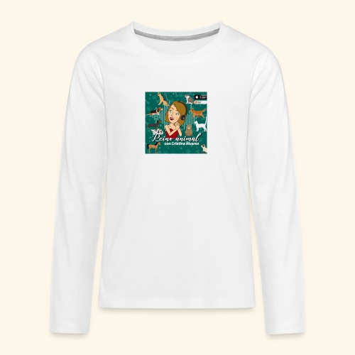 reino animal 01 - Camiseta de manga larga premium adolescente