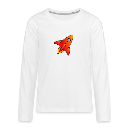 Red Rocket - Teenagers' Premium Longsleeve Shirt