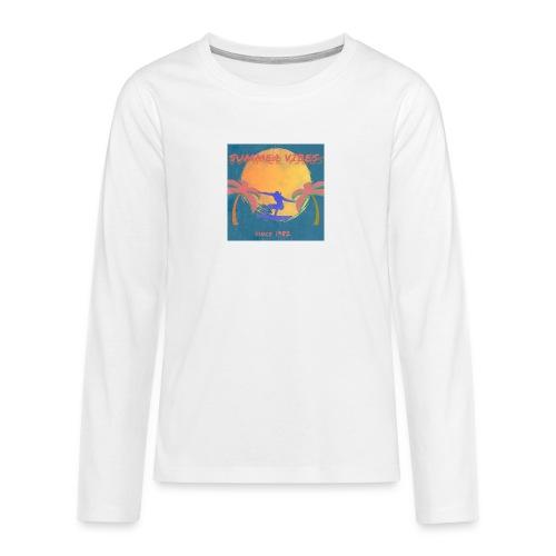 Summer vibes - Camiseta de manga larga premium adolescente
