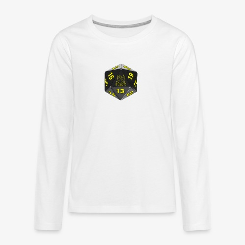 Game yellow - Teenagers' Premium Longsleeve Shirt