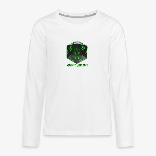 Game master green - Teenagers' Premium Longsleeve Shirt