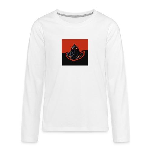 DeF Clan logo - Premium langermet T-skjorte for tenåringer