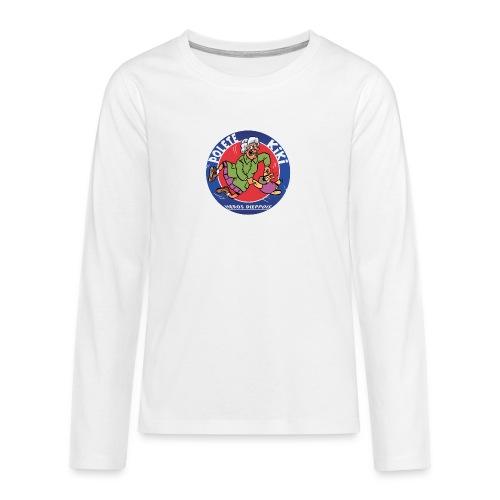 tshirt polete heros dieppois - T-shirt manches longues Premium Ado