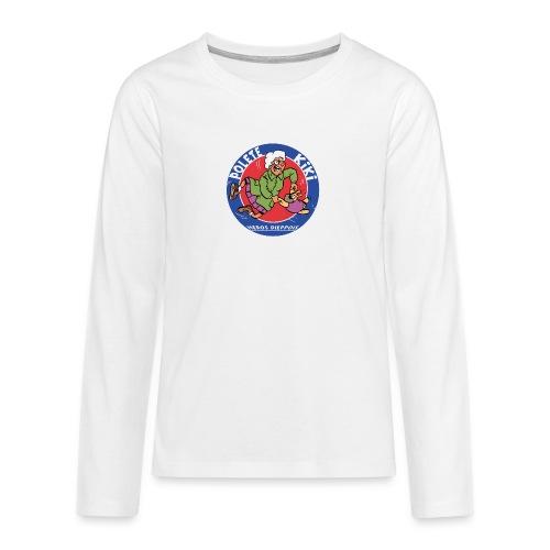 tshirt polete heros dieppois 2 - T-shirt manches longues Premium Ado