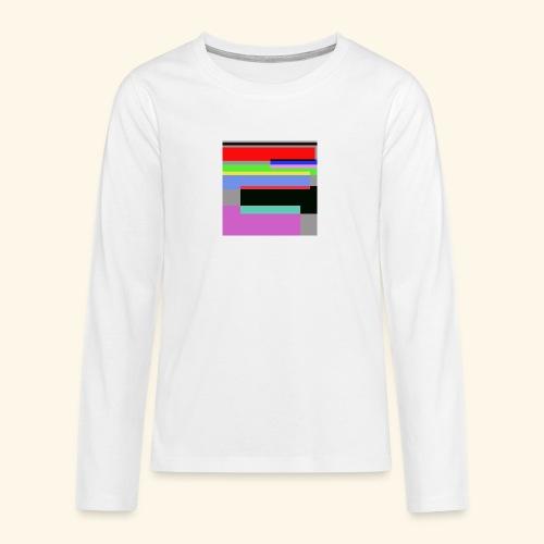 Artistico27 - Maglietta Premium a manica lunga per teenager