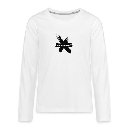 x-perience - Das neue Logo - Teenager Premium Langarmshirt