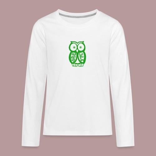 Save owls - T-shirt manches longues Premium Ado