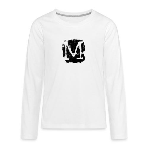 M3 - Maglietta Premium a manica lunga per teenager