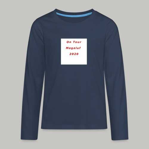 On Tour In Magaluf, 2020 - Printed T Shirt - Teenagers' Premium Longsleeve Shirt