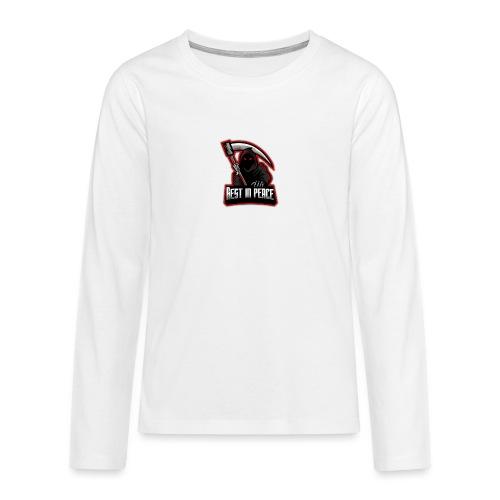 RIP - Teenager Premium Langarmshirt