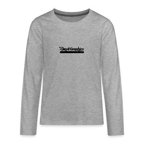 Black Devil Graphics - Teenager Premium Langarmshirt