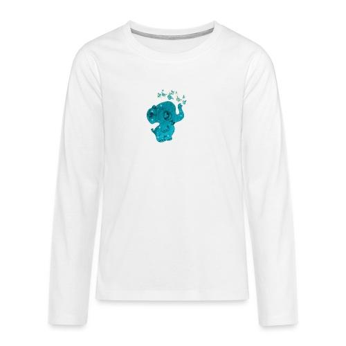 Elefante - Maglietta Premium a manica lunga per teenager