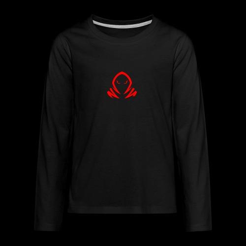 New Official TagX Logo - Teinien premium pitkähihainen t-paita