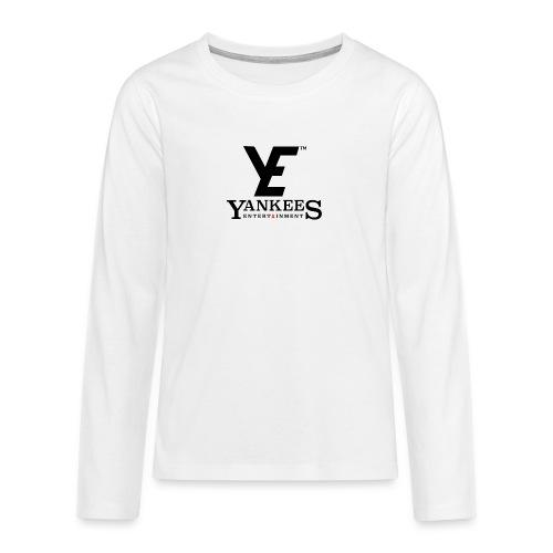 ye black - Teenagers' Premium Longsleeve Shirt