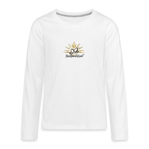 HerzBauchWerk Gold - Teenager Premium Langarmshirt