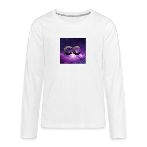 Merchendising CreeperCur - Maglietta Premium a manica lunga per teenager