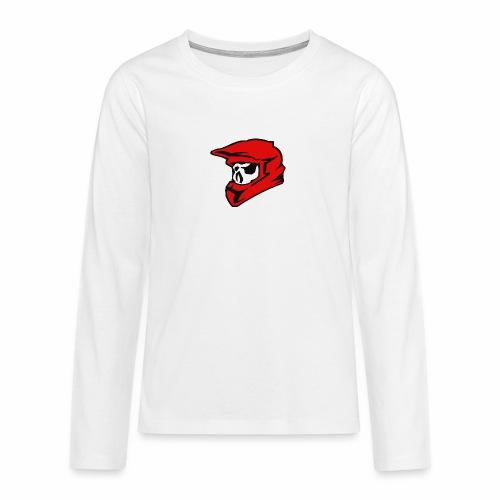 Schaedel Motocross - Teenager Premium Langarmshirt